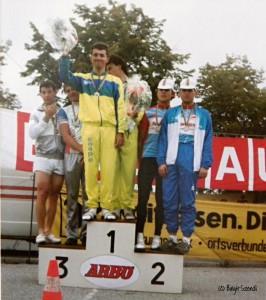 NÖ Meisterschaft Paarzeitfahren 1987 Geri + Thom