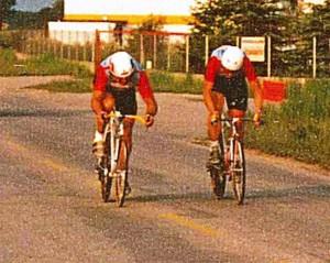 ÖSM Paarzeitfahren 1989 Hermann + Thom