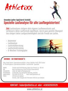 ATHLETIXX-LAUFANALYSE