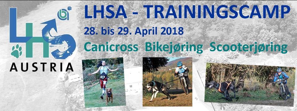LaufHundeSport – Trainingscamp von 28. bis 29. April 2018