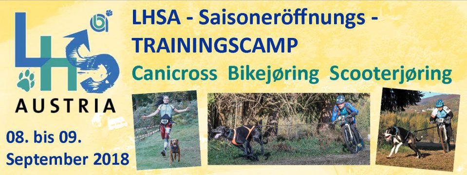 LaufHundeSport – Trainingscamp von 08. bis 09. September 2018